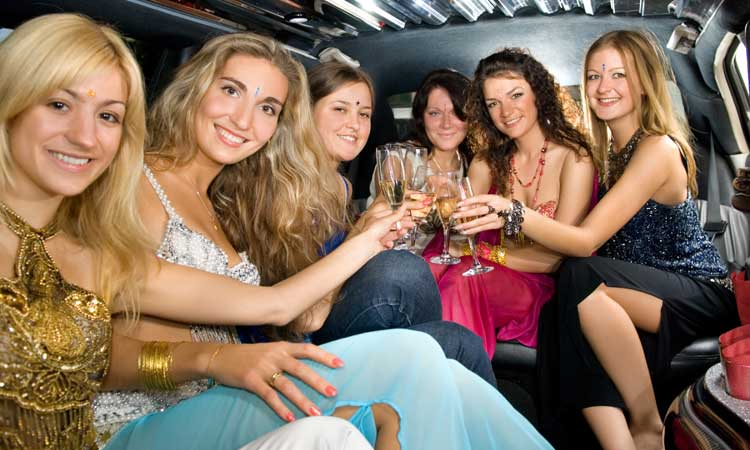 Houston Bus Services Ladies Night Out